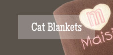 personalised cat blankets