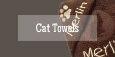 personalised cat towels