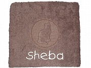 Personalised Cat Towel with Embossed Cat