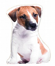 Jack Russell Shaped Cushion