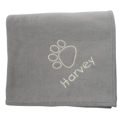Posh Paw Large Personalised Dog Blanket