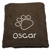 Posh Paw Personalised Dog Towel