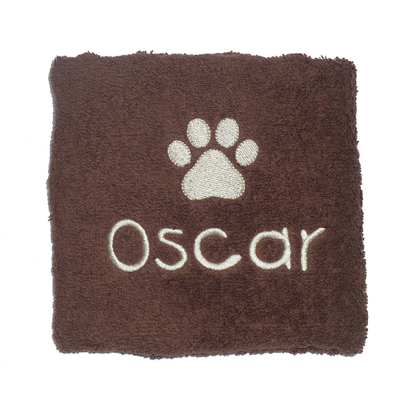 Personalised Paw Towel
