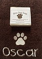 Paw Print Towel & Dog Soap